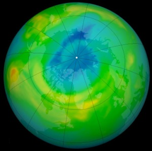 Destruction record de la couche d ozone en arctique blog archipel des sciences - Trou de la couche d ozone ...