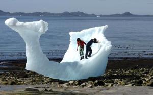 Iceberg Groenland mai 2016
